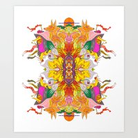 Free Psych And Mirrors -… Art Print
