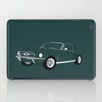 1968 Ford Mustang GT iPad Case