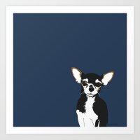 Zoe The Chihuahua Art Print