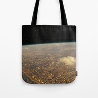 Earth Space Tote Bag