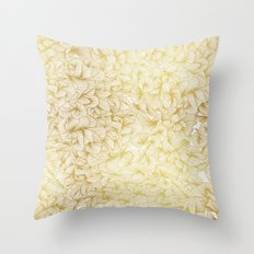 Knee-Deep in Gold Ink Throw Pillow