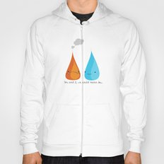 Water and Fire- A Tragic Love Affair Hoody