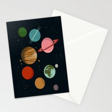 The Planets  Stationery Cards