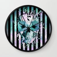 Limbo, dreaming in color Wall Clock
