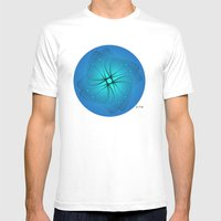 Fleuron Composition No. 129 Mens Fitted Tee White SMALL