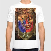 GEMINI Mens Fitted Tee White SMALL