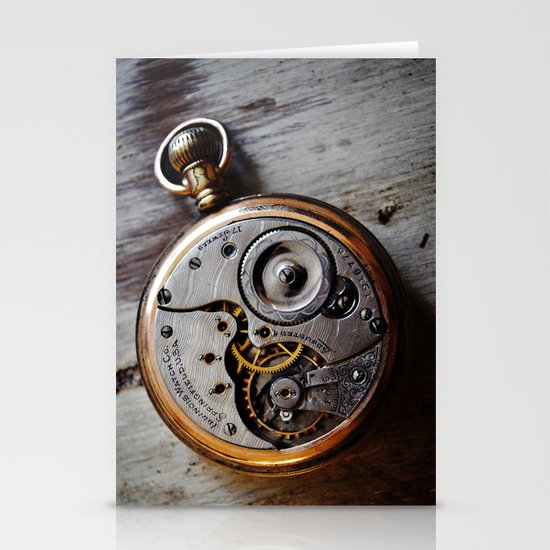 The Conductor's Timepiece - 1 Stationery Card