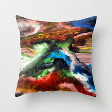 W w w ord Throw Pillow