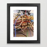 Sound The Alarm Framed Art Print