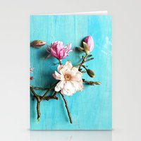 Flowers of Spring Stationery Cards