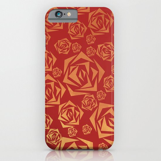 Golden roses iPhone & iPod Case