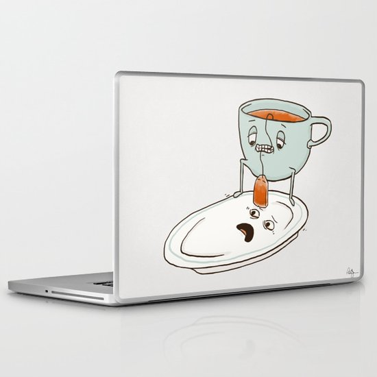 Tea Baggin' Laptop & iPad Skin