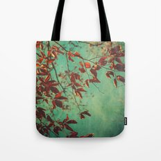 Her Dreams Were in the Treetops Tote Bag