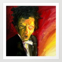 Mr. Waits Art Print