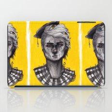 Seen in Yellow iPad Case