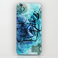Turquoise Hamsa iPhone & iPod Skin