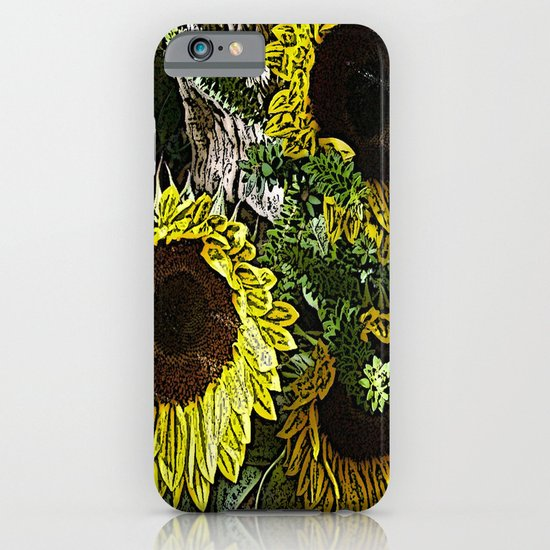 For the Sake of Sunflowers iPhone & iPod Case