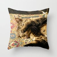 Why You Wake Me Up? Throw Pillow