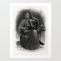 The Omnivorous Reader Art Print