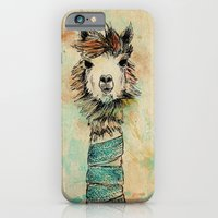 iPhone & iPod Case featuring Lama by Anastasia Tayurskaya