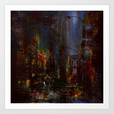 The Night Has A Thousan… Art Print