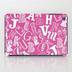 A-Z iPad Case