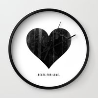 Beats For Love. Wall Clock