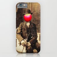 iPhone & iPod Case featuring An apple a day by monjii art