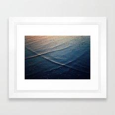 Ocean Waves Framed Art Print