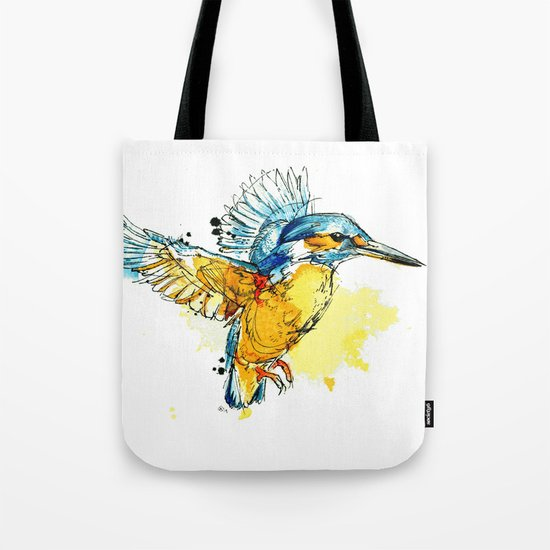 Kingfisher Tote Bag