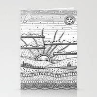 Voyage Incertain (uncert… Stationery Cards