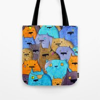 The Cats Of Verdun Tote Bag