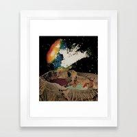 Kepler Pool Party Framed Art Print