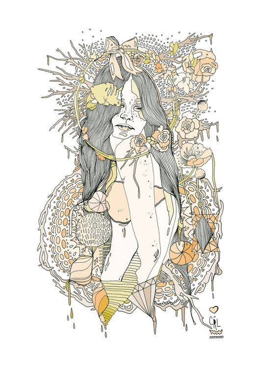 //blossom// Canvas Print