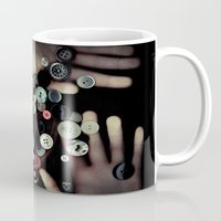 TRAPPED BUTTONS Mug