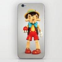 Skull Pinocchio iPhone & iPod Skin