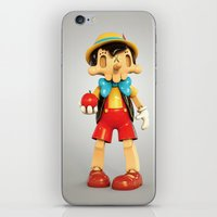 Skull Pinocchio iPhone & iPod Skin