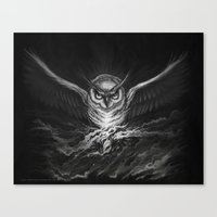 BounD Owl Canvas Print