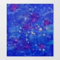Constelation Canvas Print