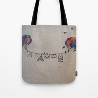 Clothes line |2 Tote Bag