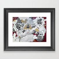 EVER FRESH Framed Art Print