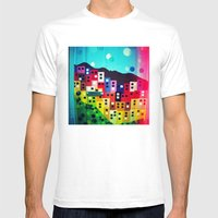 Diana Madeira Mens Fitted Tee White SMALL
