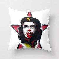 Mc Che Guevara, Eusebio Guerra, 2011 Throw Pillow