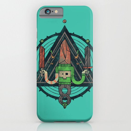 He, with the peculiar voice iPhone & iPod Case