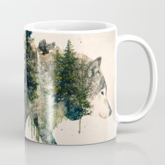 Wolf is the Pride of Nature Mug