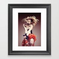 LadyPrisoner Framed Art Print