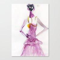 Lady boo Canvas Print