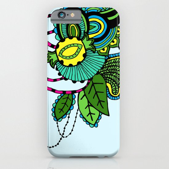 Powered by Pineapples iPhone & iPod Case