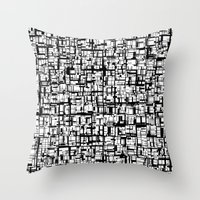 Abstract Mosaic  Throw Pillow