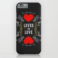 iPhone & iPod Case featuring Loved to Love by Joseph Rey Velasquez